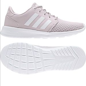 adidas QT Racer Damen Lila Sneaker
